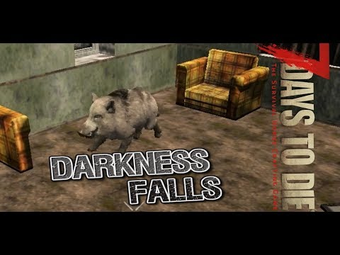 *NEW MOD* Darkness Falls | 7DTD | 1 | Get out there and get hunting