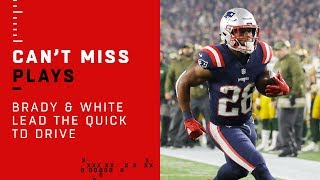 Brady & White Lead Lightning-Fast Opening TD Drive!