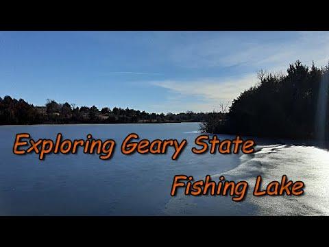 Exploring Geary State Fishing Lake