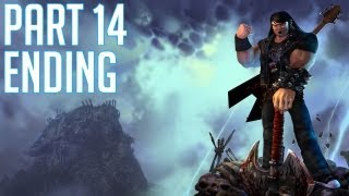 "Brutal Legends - Part 14 ENDING ""Last Fight"" Walkthrough / Gameplay PC PS3 XBOX360"