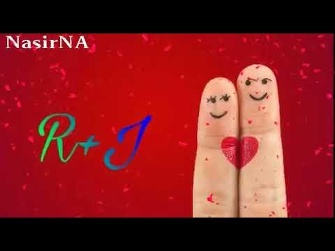 ❤J name whatsapp status video  R &J letter whatsapp status  new cover songs
