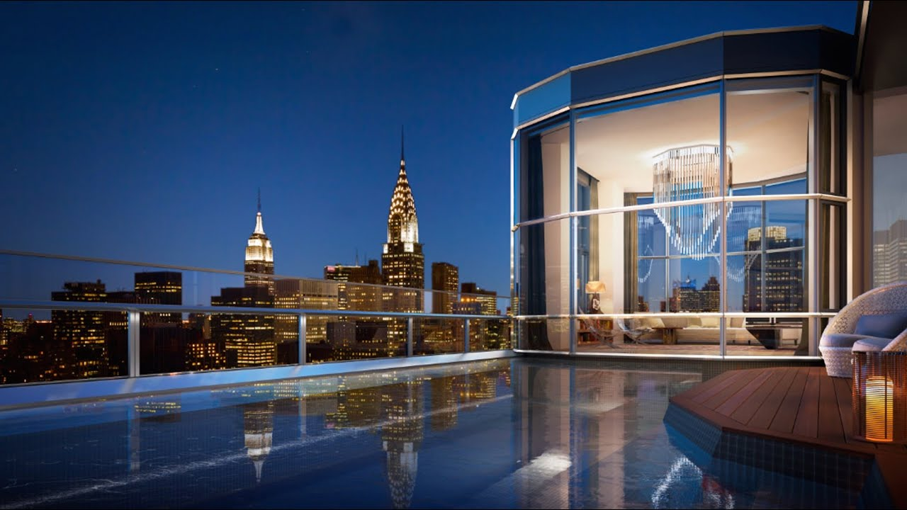 manhattan luxury penthouses will be most expensive ever - youtube