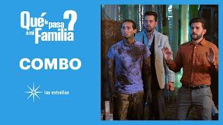 ¿Qué le pasa a mi familia?: ¡Lalo, Mariano y Patricio van a rescatar a Sol! | C-84 | Las Estrellas
