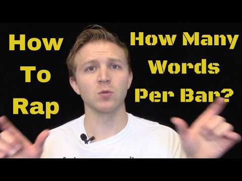 How To Rap: How Many Words Per Bar
