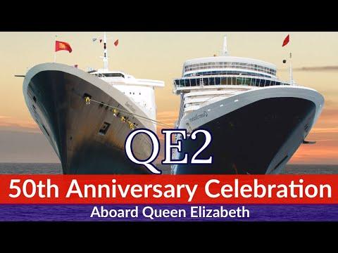 QE2 50th Anniversary Celebration aboard Cunard's MV. Queen Elizabeth - September 2017