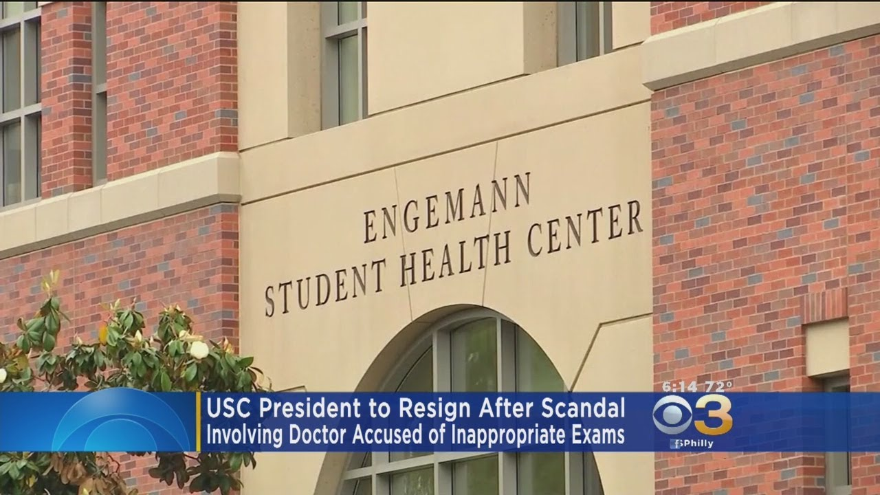 USC President, Max Nikias, To Resign After Scandal Involving University  Gynecologist Sex Abuse