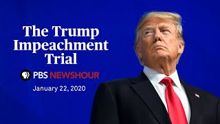 WATCH LIVE: Senate impeachment trial of Donald Trump | January 22