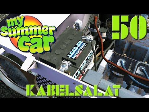 """[VERKABELUNG & SAVEGAME] """"Kabelsalat"""" - My Summer Car #050 (GERMAN LP) !+SAVEGAME!"""