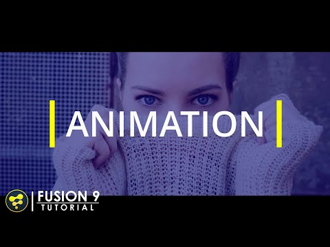 Simple Text Animation in Fusion | BlackMagic Fusion 9 Tutorial