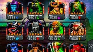 Marvel Contest Of Champions HACK/MOD APK 16.1.0- MCOC God mode, 1 hit kill Andriod/Ios