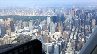 HELICOPTER RIDE in NEW YORK CITY ( NYC ) - 15 minutes - start to finish