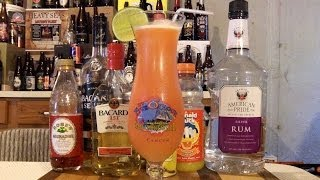 How To Make A Hurricane Cocktail / Mixed Drink (new Orleans Style) ✩ Recipe Included ✩ Djs Brewtube