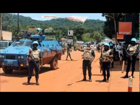 CAR protesters clash with UN peacekeepers turns deadly