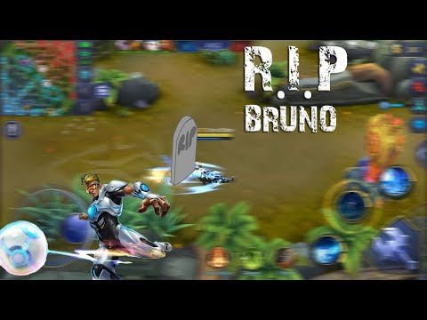 Perfect Bruno Gameplay with stolen Savage    Mobile Legends