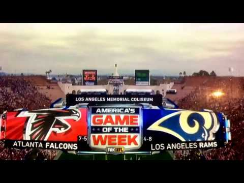 "NFL on Fox ""Rams vs. Falcons"" cold open December 11, 2016"
