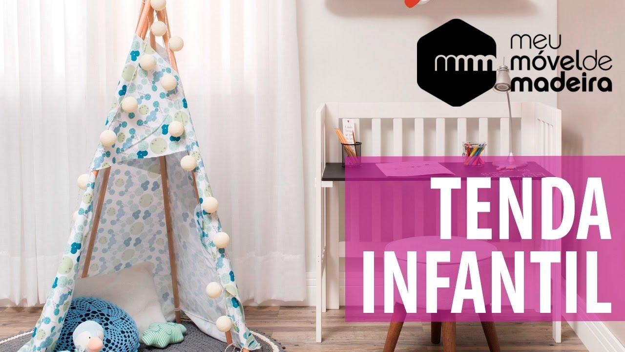 a9e9cb30fd0689 DIY: Como fazer uma tenda infantil?