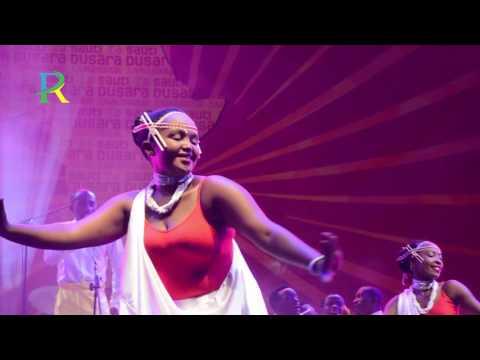 Imena Cultural Troupe representing Rwanda in Sauti za Busara Festival