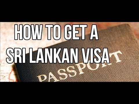 How to get a Sri Lankan Visa | Sri Lanka Visa