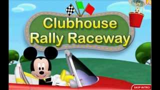 Mickey Mouse Clubhouse Road Rally Adventure Game Clubhouse Rally Raceway