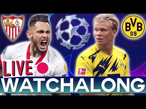 Sevilla Vs Borussia Dortmund - Champions League Round Of 16 (RTV Live Watchalong)