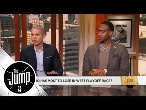 The race to the NBA playoffs in the West has gotten crazy | ESPN