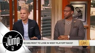 The race to the NBA playoffs in the West has gotten crazy   ESPN