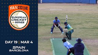 🔴 FanCode European Cricket Series Spain, Barcelona Day 19 | Cricket Live Stream