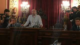 Jácome repasa anécdotas tras convertirse en alcalde de Ourense