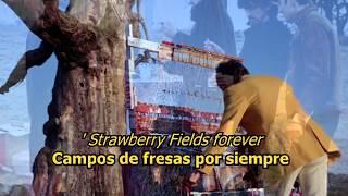 Strawberry fields forever - The Beatles (LYRICS/LETRA) [Original]