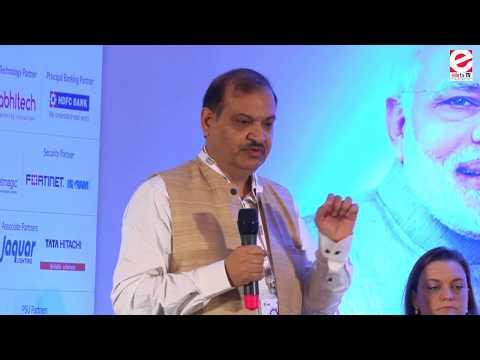 Pravir Kumar, Chairman, Board of Revenue, Government of Uttar Pradesh at Smart City Summit Lucknow