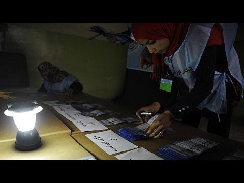Polls close in Afghanistan election, counting begins