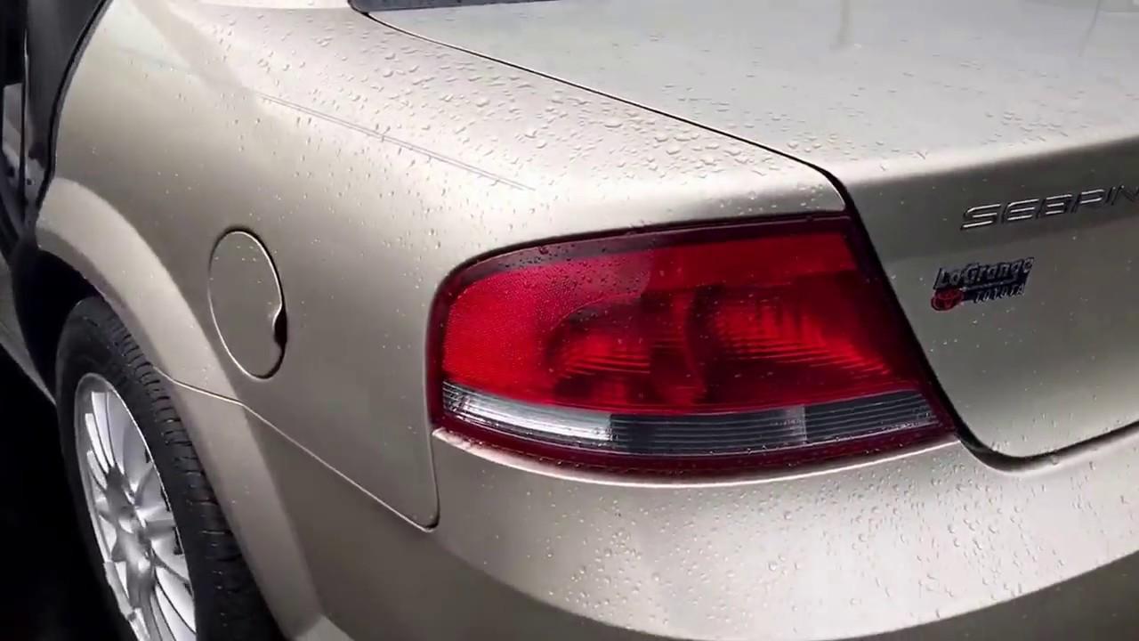 2004 chrysler sebring sedan reviews