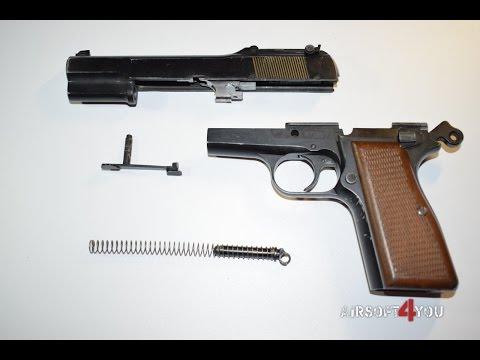 Обзор пистолета WE Browning Hi Power M1935 GGBB
