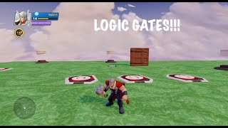 Disney Infinity 2.0 Toy Box Tutorial: Logic Gates And Plates