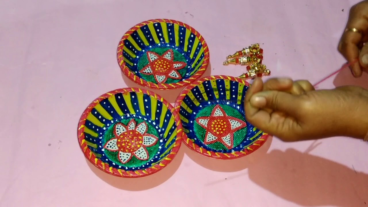 Best Decoration Item With Paper Plate Reuse Diy Wall Hanging