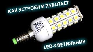 видео конструкция светильников