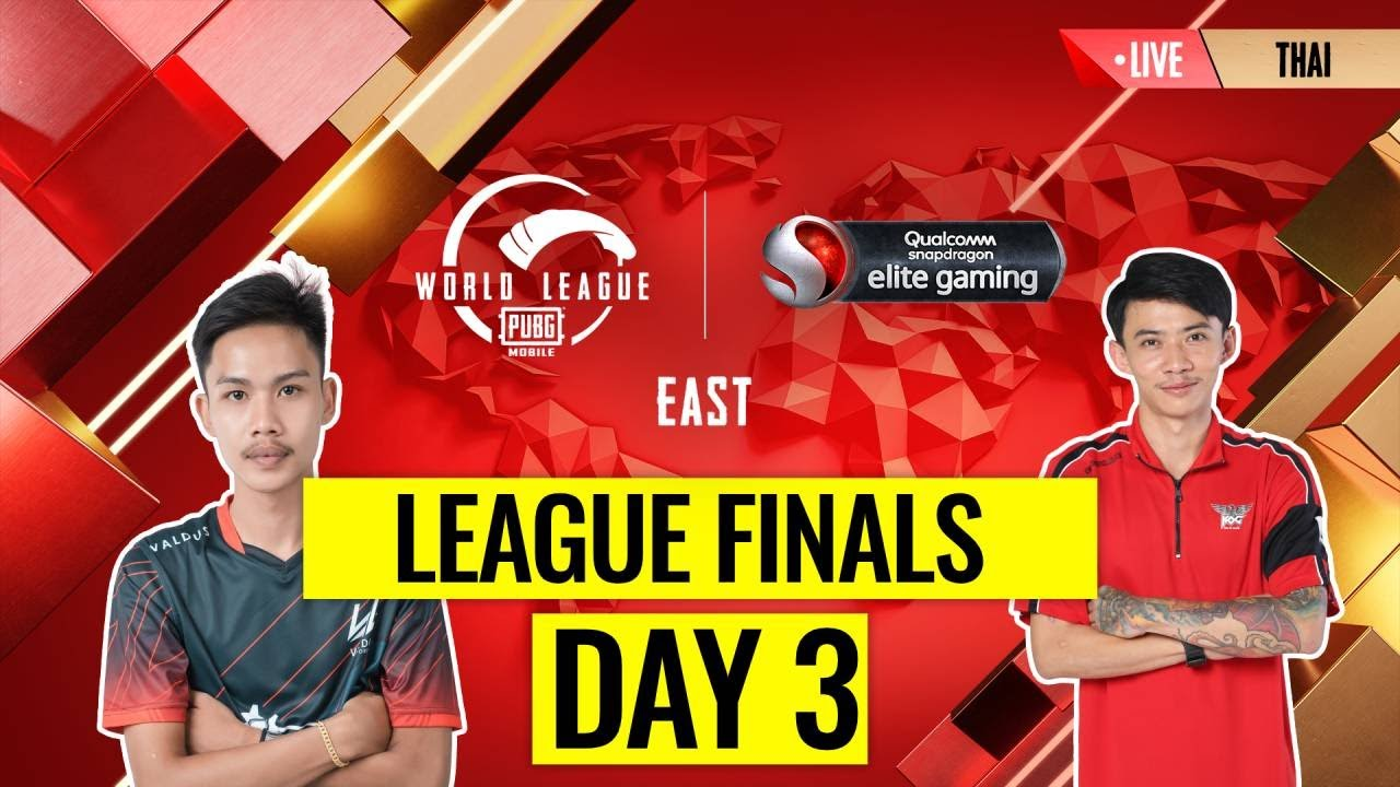 [THAI] PMWL EAST - League Finals Day 3 | PUBG MOBILE World League Season Zero (2020)