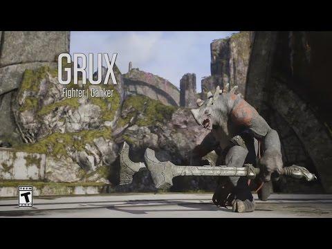видео: paragon - Минутный Обзор Героя - Грукс (grux)
