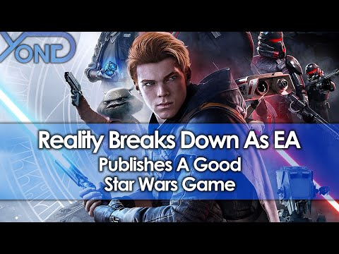Reality Breaks Down As EA Publishes A Good Star Wars Game (Jedi Fallen Order Impressions)