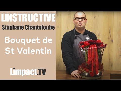 Bonjour les Fleuristes - Bouquet Saint Valentin - Stéphane CHANTELOUBE