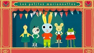Ainsi font, font, font, les petites marionnettes - Chanson pour enfants avec les paroles