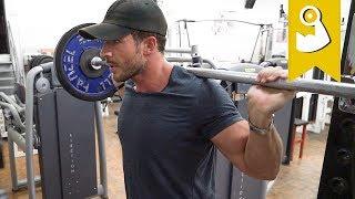 Komplettes Bein Workout (Aufbau)