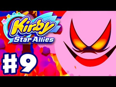 Kirby Star Allies - Gameplay Walkthrough Part 9 - ALL BOSSES! 100%! Ultimate Choice Soul Melter!