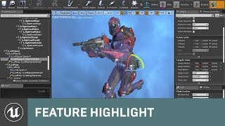 Physics Asset Editor Updates in 4.18 | Feature Highlight | Unreal Engine Livestream