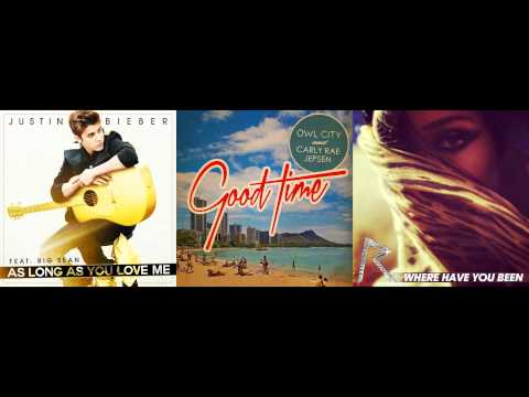 Justin Bieber vs. Owl City & Carly Rae Jepsen vs. Rihanna - As Long As You Have A Good Time