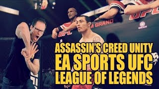 #Gamerxpress 304 AC Unity. EA Sports UFC. League of Legends.