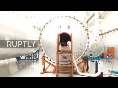 Russia: EXCLUSIVE first view of Russia's most advanced rocket to date