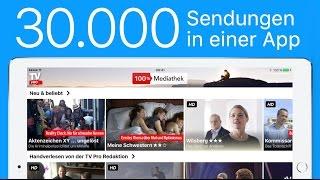 Filme und Sendungen downloaden mit TV Pro 100% Mediathek