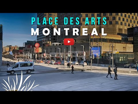Visiting Place Des Arts In Downtown Montreal, Quebec, Canada! Montreal 2020