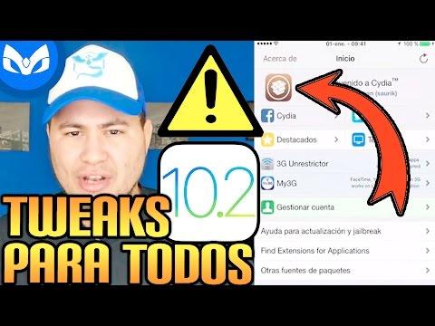 TOP TWEAKS NECESARIOS JAILBREAK 10.2 #1